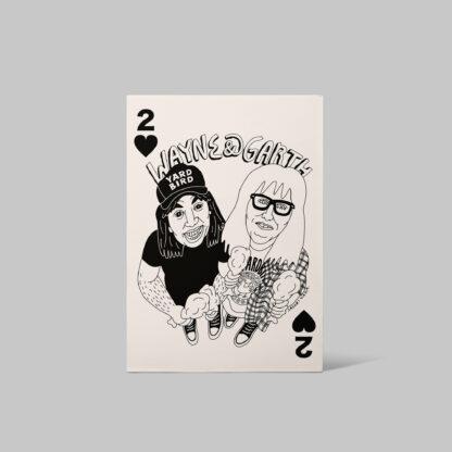 Wayne & Garth Poster