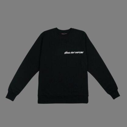 Brisket-Sweatshirt-Black Unisex-Front